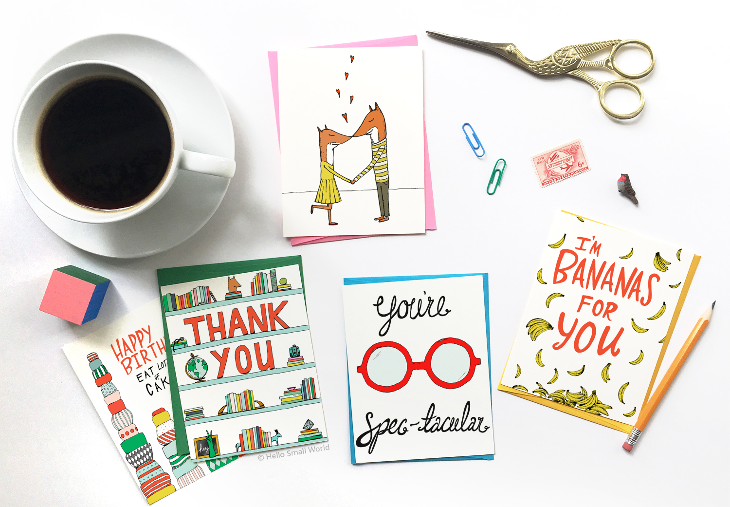 wholesale after etsy wholesale, hello small world wholesale, wholesale greeting cards, wholesale gift, illustrated greeting cards