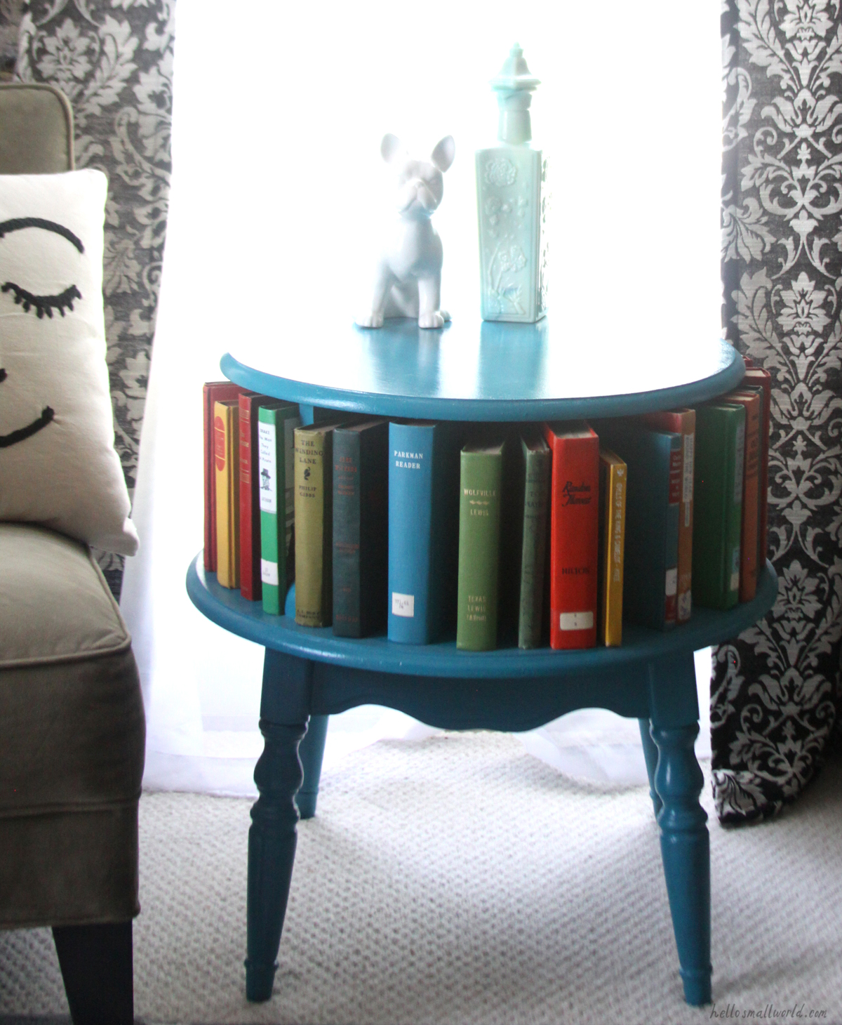 painted thrift store furniture diy project