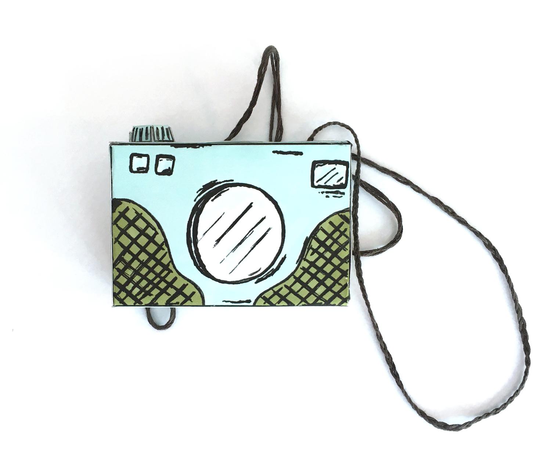 diy printable paper camera, paper crafts, paper camera template, paper craft project, diy toy camera, kids crafts, printable crafts