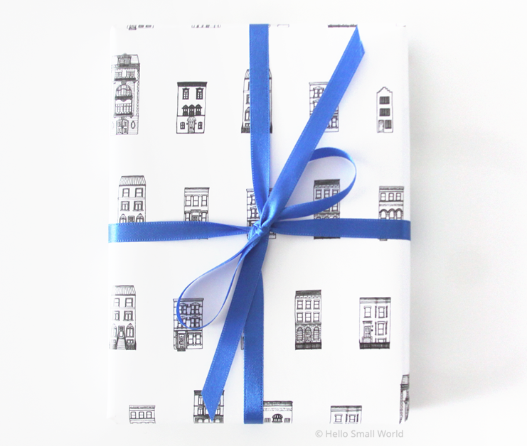 architecture gift wrap