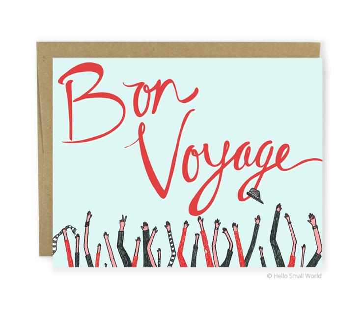 bon voyage arms card