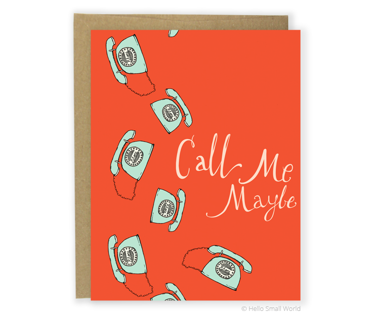 call me maybe card