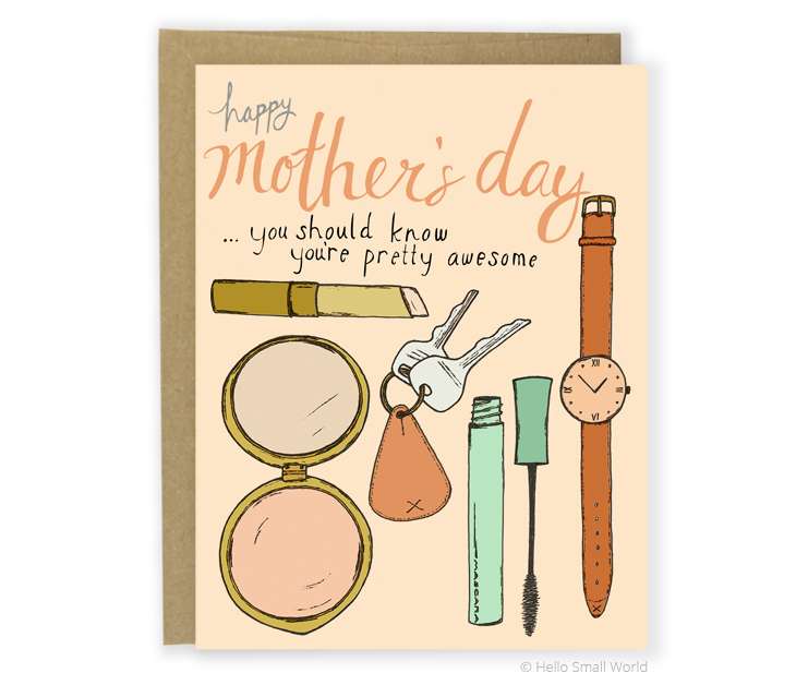 mom stuff card