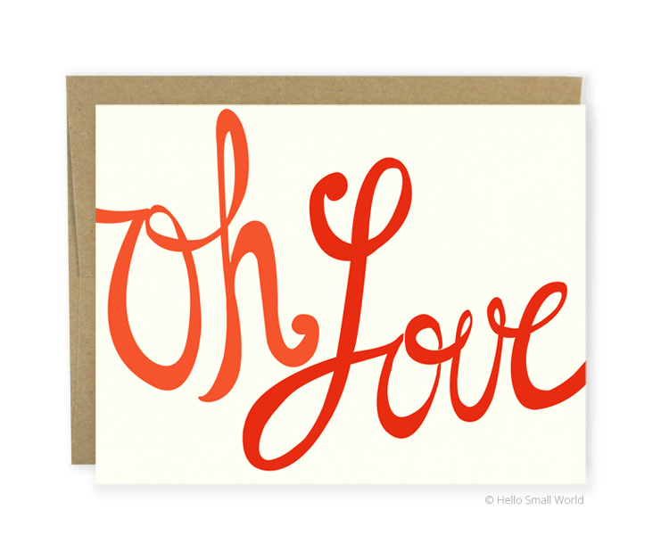 oh love card
