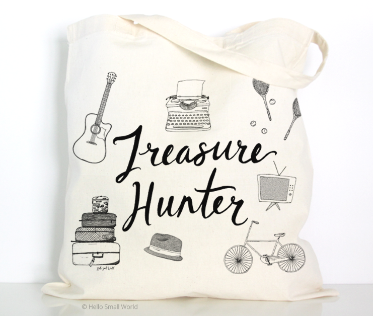 treasure hunter tote