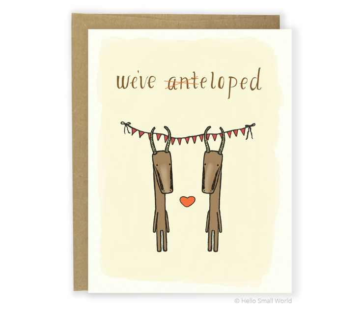 weve anteloped card