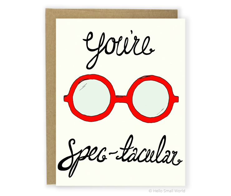 youre spectacular card