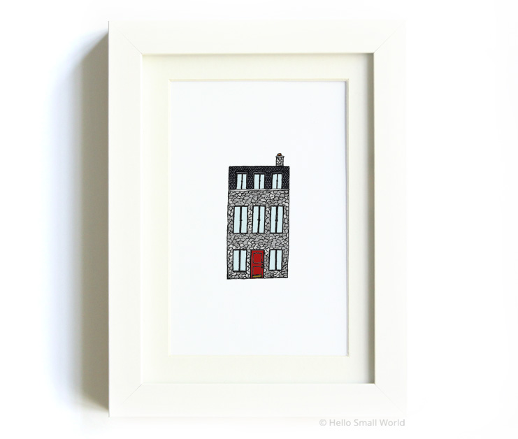nyc architecture print no10