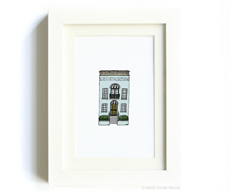 nyc architecture print no11
