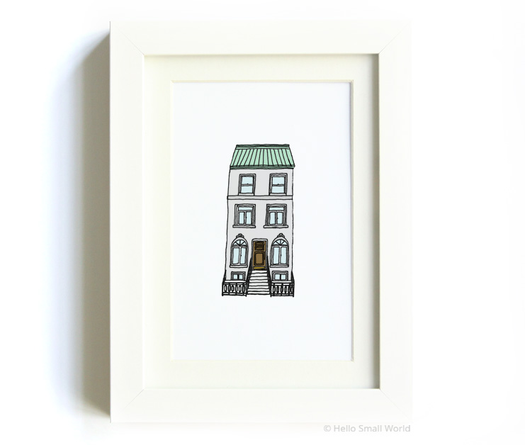 nyc architecture print no2