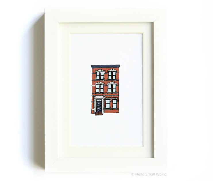 nyc architecture print no3
