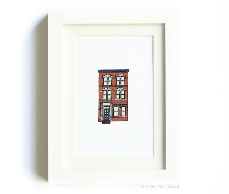 nyc architecture print no3