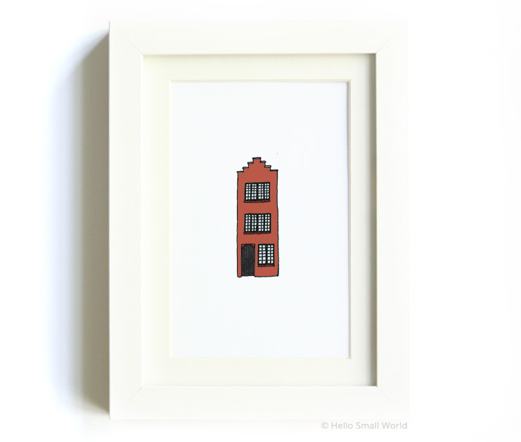 nyc architecture print no4