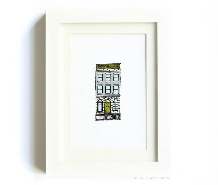 nyc architecture print no5