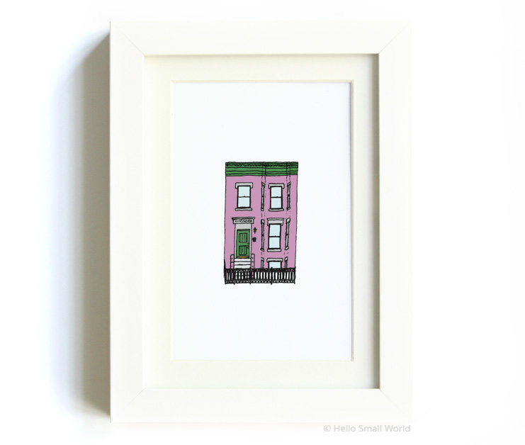 nyc architecture print no6