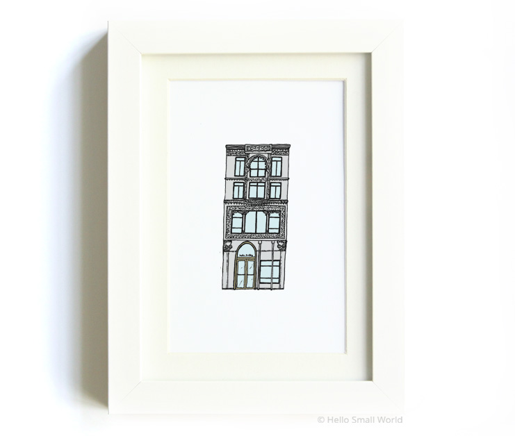 nyc architecture print no8