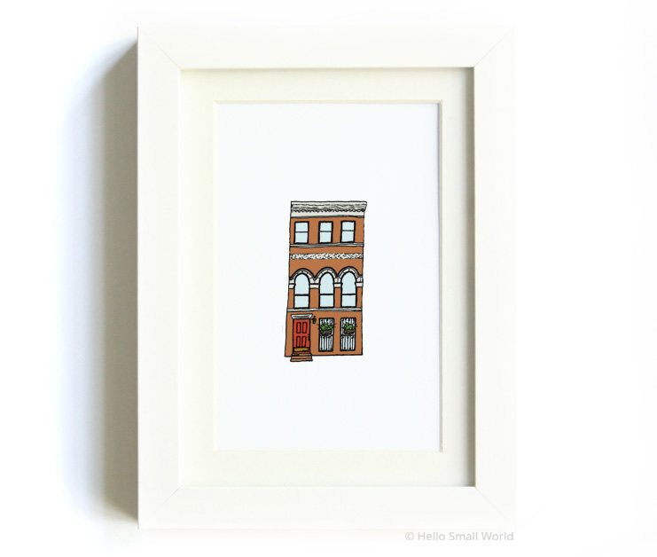 nyc architecture print no9