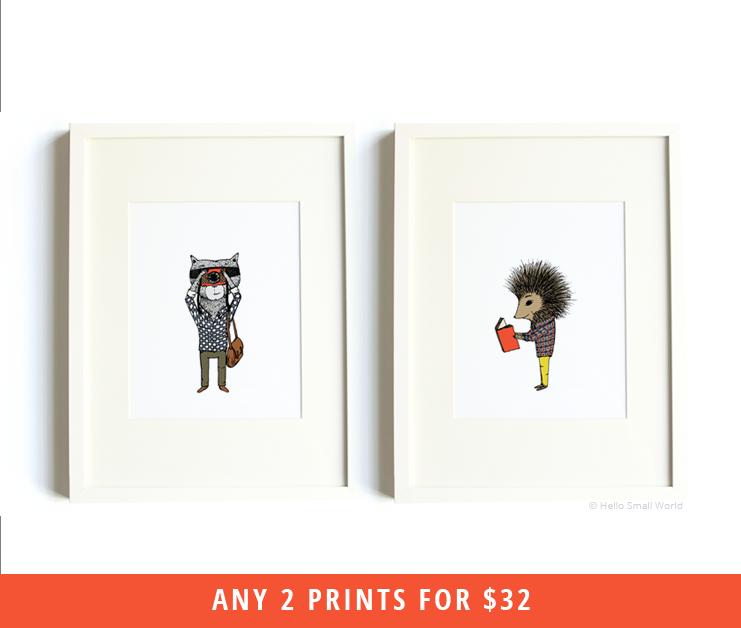 any 2 8x10 prints