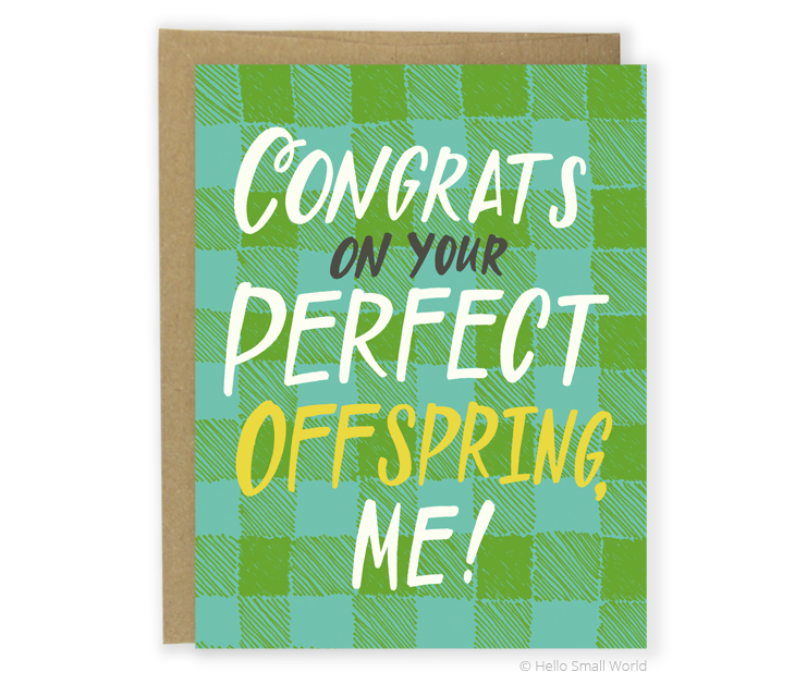 perfect offspring card
