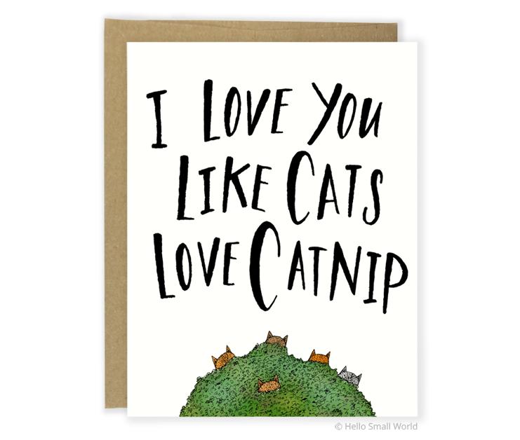 catnip card