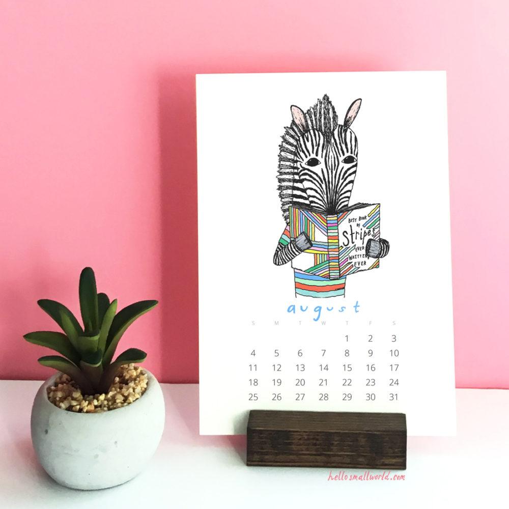 august 2019 reading zebra