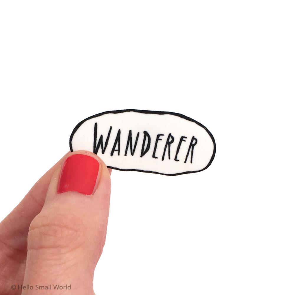 wanderer brooch
